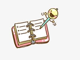 cartoon books and pens cartoon clipart cartoon book cartoon pen png image and