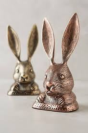 Rabbit Decorative Accessories Rabbit Ears Doorstop s p a c e s Pinterest Rabbit ears 79