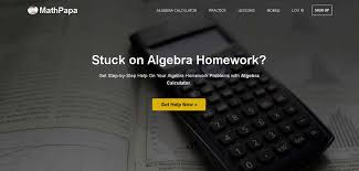 well worry not as here is a perfect solution for the same there is an called mathpapa which can solve any algebraic problem for you and also