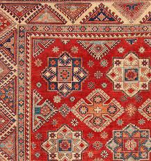 red 10 x 15 kazak rug hand knotted oriental rug 2