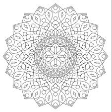 Bloemen Mandala Kleurplaat Gratis Kleurplaten Printen