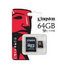 Thẻ nhớ Thẻ nhớ Kingston 64GB Class 10 - Chính hãng giá rẻ - Hoàng Hà Mobile