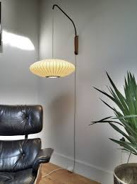 george nelson lighting. George Nelson Saucer Sconce Lamp | Had One Of These Lamps In Our House. Lighting M