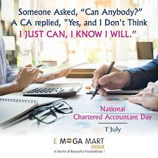 Charted Accountant Happy Chartered Accountants Day To All Members Students