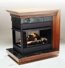 kingsman mvf40 zero clearance universal vent free corner fireplace 47 jpg