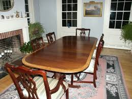 reproduction dining tables. duncan phyfe - mahogany pedestal table restoration complete reproduction dining tables