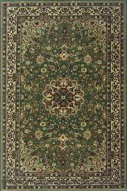 changis wool traditional medallion rug 500 green image to close