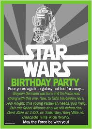 Star Wars Birthday Invitations Printable Star Wars Birthday Invitation Ebay Birthday Invitations Nailartssravi