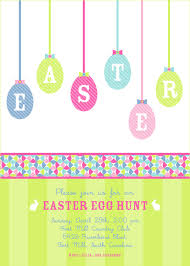 Easter Invitations Templates 30 Free Sample Example Format