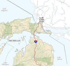 the catalina yacht s log  map of sault ste marie