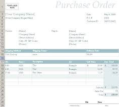 purchase order excel templates excel order form template opnlp co