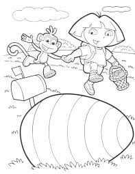 Dora Coloring Pages Pdf Coloring Pages The Explorer Coloring Page