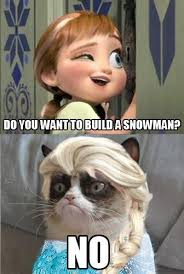 grumpy cat quotes frozen. Plain Cat Grumpy Cat Pictures And Quotes Do You Want To Build A Snowman Lol  Frozen In Cat Quotes Frozen T