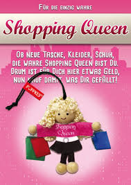 Geldgeschenk Shoppingqueen Gutschein Shoppen