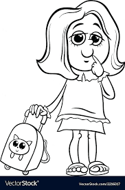 Cute Cartoon Characters Coloring Pages Coloring Pages Characters