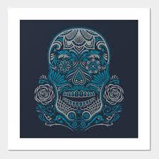 sugar skull sugar skull posters and