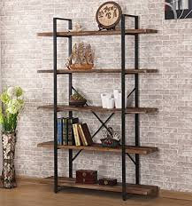 industrial style furniture. Plain Style Ou0026K Furniture 5Shelf Industrial Style Bookcase And Shelves Free Standing  Storage Shelf Units With