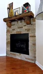 sweet parrish place diy airstone fireplace reveal