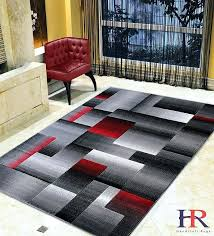 black and grey patterned carpet lava grey silver black abstract area rug modern contemporary geometric cube black grey pattern carpet