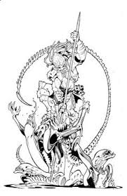 Small Picture Alien vs Predator Coloring Pages Alien Predator Coloring Pages