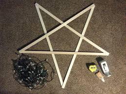 diy light star supplies
