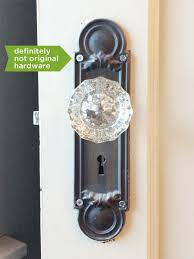 Glass doorknobs Keep or replace Rather Square