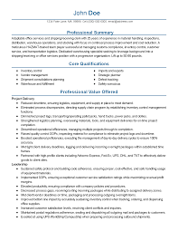 Shipping Resume Resume For Your Job Application