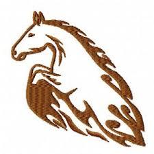 Výšivka Kůň Tetování Vyšívání Náš Koníček