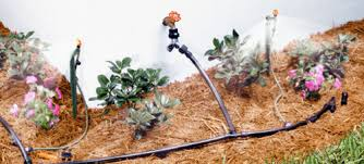 garden irrigation system. Source: Lowes.com Garden Irrigation System