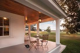 exterior porch ceiling lighting. covered porch ceiling farmhouse with painted floor craftsman outdoor folding chairs exterior lighting