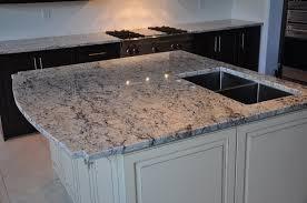 3cm ice white granite countertop