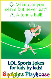 Small Picture LOL funny sports jokes for kids by kids Riddles Jokes Knock
