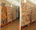 Художественная роспись стен трафаретом своими руками 143