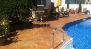 stamped concrete patio nj
