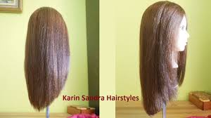 V Hairstyle long v haircut tutorial without layers long v shaped haircut 6929 by wearticles.com