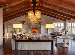 gorgeous living room contemporary lighting. Wall Stone Around Fireplace Ideas For Gorgeous Living Room Design With Modern Lighting Above Small Table Furniture And Dark Laminate Wooden Floor Also Using Contemporary