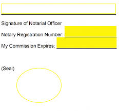 notary st template notary public