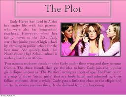mean girls presentation meet the mean girls gretchen regina cady karen monday 28 14 3
