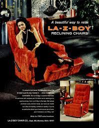 see old fashioned la z boy recliners