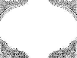 White Border Pattern Templates For Powerpoint Presentations White