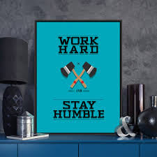 motivational prints for office. modern minimalist motivational typography workhard humble axe quotes art prints poster wall picture canvas painting office for