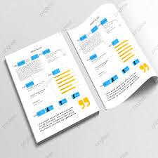 Attractive Modern Resume Cv Template Resume Cv Templates Png