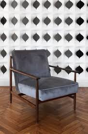 gaia fabric armchair wooden furniturehome