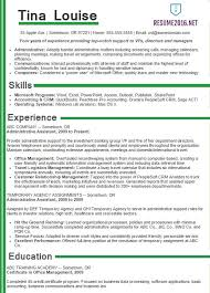 ... Administrative assistant resume samples 2016 ...