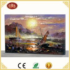 famous chinese artist abstract canvas oil painting