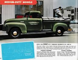 Nostalgia on Wheels: 1952 Chevrolet Trucks Brochure - Medium Duty