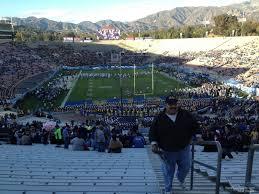 Rose Bowl Seating Chart Ucla Football Rose Bowl Stadium Section 25 Ucla Football Rateyourseats Com