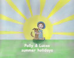 Polly & Lucas summer holidays on Behance
