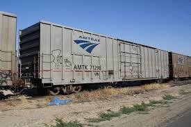 Amtrak Express Boxcar Amtrak Photo Archive