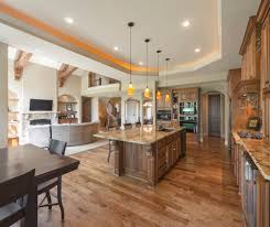 Contemporary Open Concept Kitchen For Transitional Kitchen With - Open floor plan kitchen